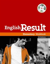 Books Frontpage English Result Elementary. Workbook + multi-ROM Pack