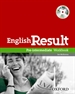 Portada del libro English Result Pre-Intermediate. Workbook + multi-ROM Pack