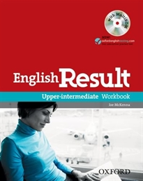 Books Frontpage English Result Upper-Intermediate. Workbook + multi-ROM Pack