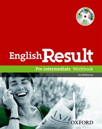 Books Frontpage English Result Pre-Intermediate. Workbook with Key + multi-ROM Pack