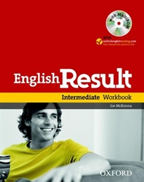 Books Frontpage English Result Intermediate. Workbook with Key + multi-ROM Pack