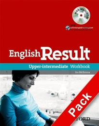 Books Frontpage English Result Upper-Intermediate. Workbook with Key + multi-ROM Pack