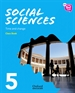 Portada del libro New Think Do Learn Social Sciences 5 Module 2. Time and change. Class Book
