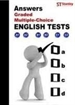 Front pageAnswers, graded multiple, choice. English test