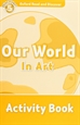 Portada del libro Oxford Read and Discover 5. Our World in Art Activity Book
