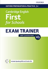 Books Frontpage Cambridge English First for School Student's Book with Key Pack