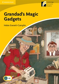 Books Frontpage Grandad's Magic Gadgets Level 2 Elementary/Lower-intermediate