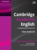 Portada del libro Cambridge Academic English B2 Upper Intermediate Class Audio CD