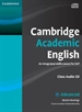 Portada del libro Cambridge Academic English C1 Advanced Class Audio CD