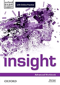 Insight Advanced. Workbook and Online Practice Students