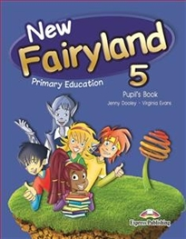 Books Frontpage New Fairyland 5 Primary Education Pupil's Pack