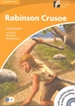Portada del libro Robinson Crusoe Level 4 Intermediate Book with CD-ROM and Audio CD