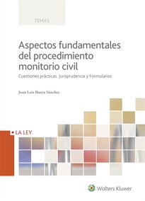 Books Frontpage Aspectos fundamentales del procedimiento monitorio civil
