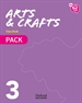Front pageNew Think Do Learn Arts & Crafts 3. Class Book Pack