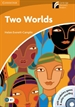 Portada del libro Two Worlds Level 4 Intermediate Book with CD-ROM and Audio CD Pack