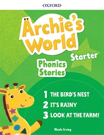 Books Frontpage Archie's World Starter Phonics Readers