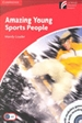Portada del libro Amazing Young Sports People Level 1 Beginner/Elementary Book with CD-ROM/Audio CD Pack