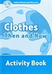 Portada del libro Oxford Read and Discover 6. Clothes Then and Now Activity Book
