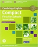 Portada del libro Compact First for Schools Workbook with Answers with Audio 2nd Edition