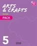 Portada del libro New Think Do Learn Arts & Crafts 5. Class Book Pack