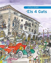 Portada del libro Little Story of Els 4 Gats