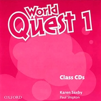 Books Frontpage World Quest 1. Class CD (2)