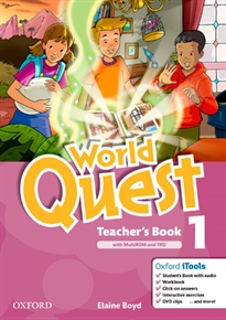 Books Frontpage World Quest 1. Teacher's Book Pack