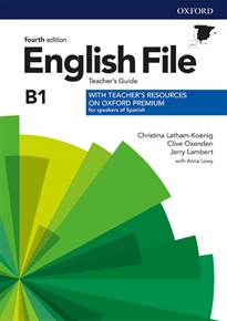 Books Frontpage English File 4th Edition A2/B1. Teacher's Guide + Teacher's Resource Pack