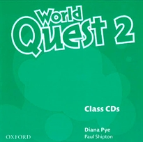 Books Frontpage World Quest 2. Class CD (3)