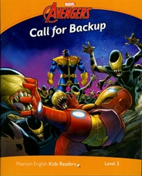 Books Frontpage Level 3: Marvel's Call for Back Up