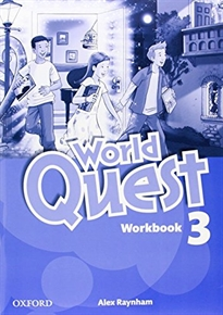 Books Frontpage World Quest 3. Workbook