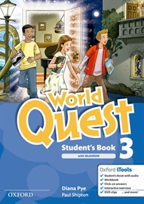 Books Frontpage World Quest 3. Student's Book