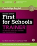 Portada del libro First for Schools Trainer Six Practice Tests with Answers and Teachers Notes with Audio 2nd Edition