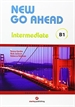 Portada del libro New Go Ahead 3, intermediate B1. Student's book + Workbook