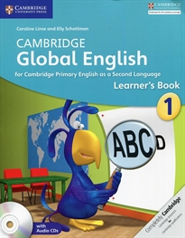 Portada del libro Camb Global Eng 1 Al+CD Stage