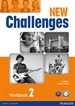 Portada del libro New Challenges 2 Workbook & Audio CD Pack