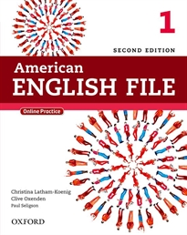 Books Frontpage American English File 2nd Edition 1. Student's Book Pack