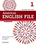 Portada del libro American English File 2nd Edition 1. Student's Book Pack