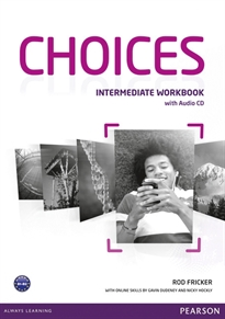 Books Frontpage Choices Intermediate Workbook & Audio CD Pack