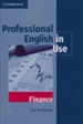 Portada del libro Professional English in Use Finance