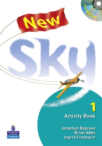Books Frontpage New Sky Activity Book and Students Multi-ROM 1 Pack