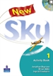 Portada del libro New Sky Activity Book and Students Multi-ROM 1 Pack