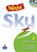 Portada del libro New Sky Activity Book and Students Multi-ROM 2 Pack