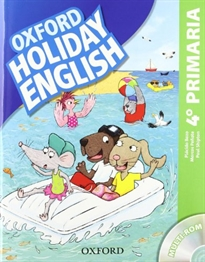 Books Frontpage Holiday English 4.º Primaria. Pack 3rd Edition