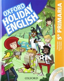 Books Frontpage Holiday English 5.º Primaria. Student's Pack 3rd Edition