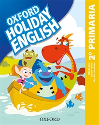 Books Frontpage Holiday English 2.º Primaria. Student's Pack 3rd Edition. Revised Edition