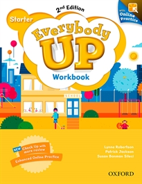 Portada del libro Everybody Up! 2nd Edition Starter. Workbook with Online Practice