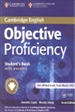Front pageObjective Proficiency Student's Book with Answers with Downloadable Software 2nd Edition