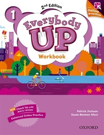 Portada del libro Everybody Up! 2nd Edition 1. Workbook with Online Practice