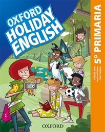 Books Frontpage Holiday English 5.º Primaria. Student's Pack 5rd Edition. Revised Edition